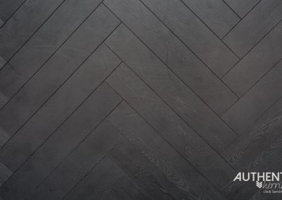 Finfloor Authentic Herringbone - Black