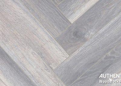 FINfloor Authentic Herringbone - Grey Wash